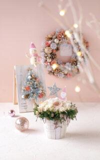 P02 今年のクリスマスのテーマは、くすみピンク×ゴールド